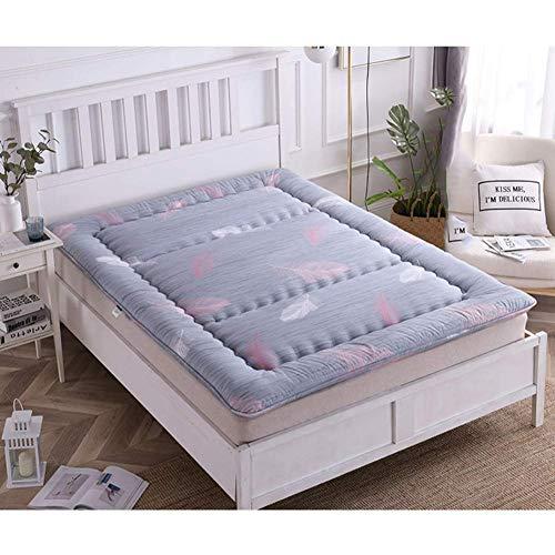 CYQ Japanese Tatami Floor Mattress Thick Sleeping Mat Roll Up Floor Breathable Futon Folding Student Dormitory Bed Mattress Pad-150x200cm (59x79inch) G