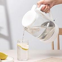 Fisecnoo Elektrische waterkokers, 1. 5L snelle verwarming temperatuurregeling glas elektrische waterkoker, automatische ui...