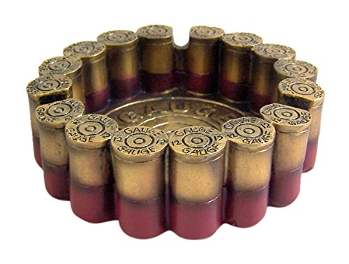12 Gauge Shotgun Shell Round Ashtray 4.5' Diameter