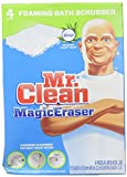 Mr. Clean Magic Eraser, Foaming Bath Scrubber - 4 pk