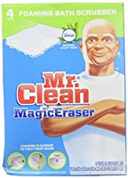 Mr. Clean Magic Eraser Foaming Bath Scrubber - 4 pk by Mr. Clean
