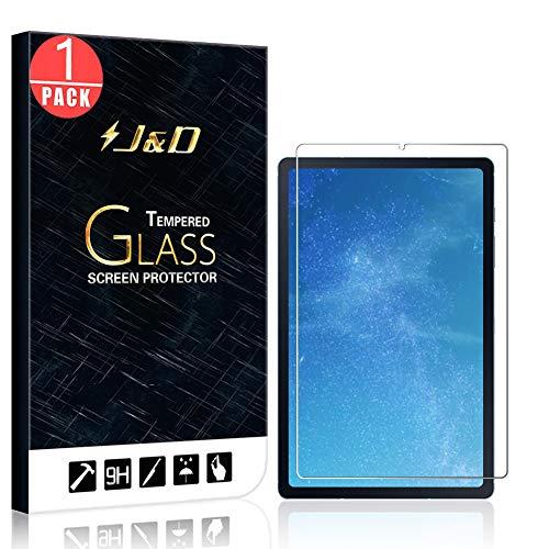 J&D Compatible para Samsung Galaxy Tab S6 Lite Protector de Pantalla, 1 Paquete [Vidrio Templado] [No Cobertura Completa] Cristal Templado Protector de Pantalla para Galaxy Tab S6 Lite