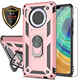 YmhxcY Huawei Mate 30 Case with Tempered Glass Screen