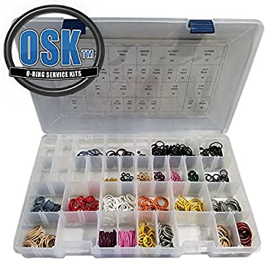 Paintball Airsmith O-Ring Kit Color Coded - 1,000 O-Rings - 31 Sizes
