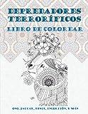 Depredadores terroríficos - Libro de colorear - Oso, Jaguar, Lince, Escorpión, y más