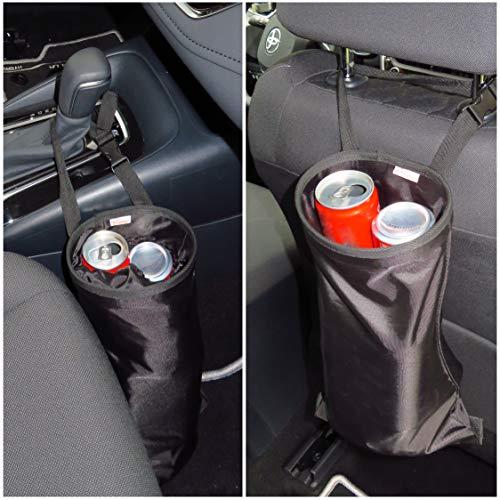 B-COMFORT Car Trash Bag Hanging Garbage Litter Holder Bags for Auto Vehicle Truck-2 Pack