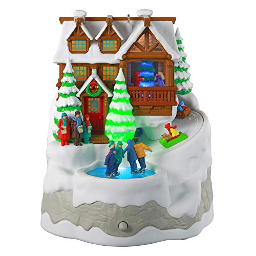 Hallmark Keepsake Ornament 2020, Christmas Cabin, Musical With Light and Motion