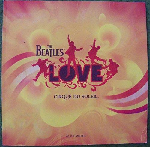 Cirque Du Soleil Program - The Beatles, Love