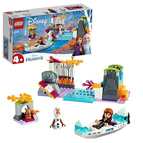 LEGO 41165 Disney Princess Frozen Die Eiskönigin 2 Annas Kanufahrt, Bauset mit Mini Puppen Anna & Olaf und Hasenfigur für Vorschulkinder im Alter von 4-7 Jahren