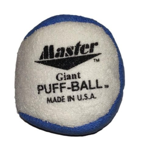Master Industries Giant Puff Balls Bowling Grip aid (Colors May Vary) by Master Industries