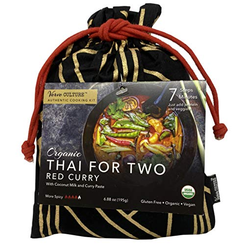 Verve Culture Thai for Two - Thai Red Curry | USDA Organic, Vegan, Gluten-Free | Made in Thailand