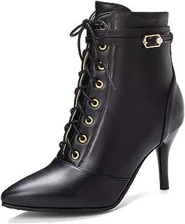 BalaMasa Womens ABS14050 Pu Boots