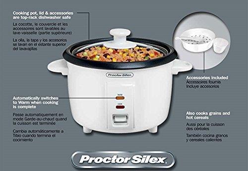 Cuiseur à riz Proctor Silex 8 tasses 37534NR - 4
