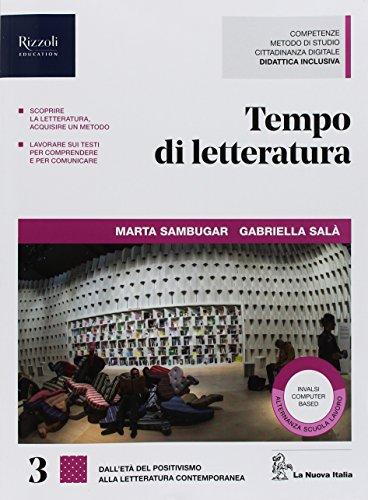 Tempo di letteratura. Per le Scuole superiori. Con ebook. Con espansione online (Vol. 3)