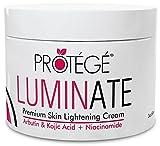 Premium Skin Lightening Cream - LUMINATE - 100% Natural Skin Bleaching for Underarm, Body, Face, Intimate and Sensitive...