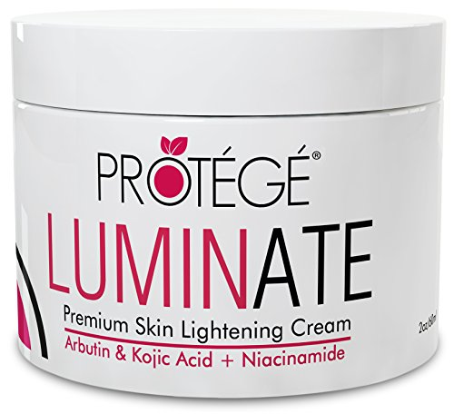 Premium Skin Lightening Cream - LUMINATE - 100% Natural Skin Bleaching for Underarm, Body, Face, Intimate and Sensitive Areas