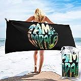 Yuanmeiju Tame Impala - Toalla de secado rápido, ligera, absorbente, para playa, para viajes, natación, piscina, yoga, gimnasio