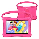 Kids Tablet, Foren-Tek K88 7 Inch Android 9.0 Tablet for Kids, 2GB RAM +32GB ROM, Kid Mode Pre-Installed, WiFi Android Tablet, Kid-Proof Case (Pink)