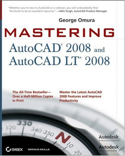Price comparison product image Mastering AutoCAD 2008 and AutoCAD LT 2008