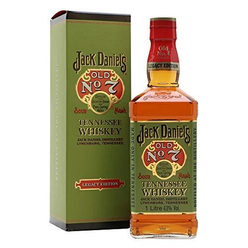 Jack Daniel's Legacy Edition - limititierte Sonderedition in der Geschenkbox - Tennessee Whiskey - 43% Vol. (1 x 1l)