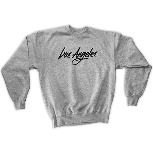 Outsider. Herren Unisex Los Angeles Sweatshirt - Grau - XL