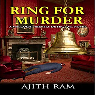 Ring for Murder: A Malcolm Priestly Detective Novel audiobook cover art
