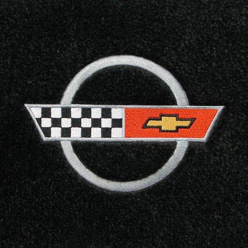 Corvette C4 Black Floor Mats 1984 1985 1986 1987 1988 1989 1990