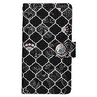 【Morocan】 iPhone XS Max ケース 手帳型 【12.ブラック】【コンチョTYPE-C】 カード収納 マグネット コンチョ モロッカン ラクダ ココペリ おしゃれ