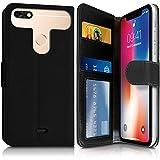 Karylax Schutzhülle für Smartphone Thomson Delight TH201, 5 Zoll, Schwarz