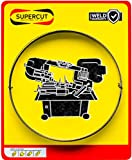 Supercut Band Saw Blade Made in The USA 93-inch X 3/4-inch X .035-inch, 10-14 TPI Bimetal Blade for Cutting Mild Steel, Stainless Steel, and General Purpose Materials