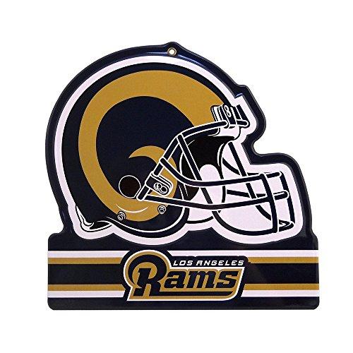Unbekannt Party Animal NFL LOS Angeles RAMS Metall Helm Schild