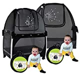 Aussie Cot Net Twin Pack - Pack n Play Travel Tent to Keep Baby from Climbing Out - Portable Ready to use on Vacation - Nursery Mini Crib Tent Canopy Netting Cover