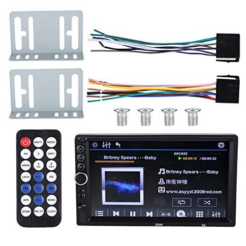 minifinker Coche Bluetooth MP5 Player, Car MP5 HD Pantalla Grande de 7 Pulgadas con Alta tasa de bits para Uso en automóvil para una Experiencia de Entretenimiento