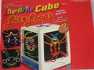 Lite Brite Cube Lite Loops Picture Refill Set