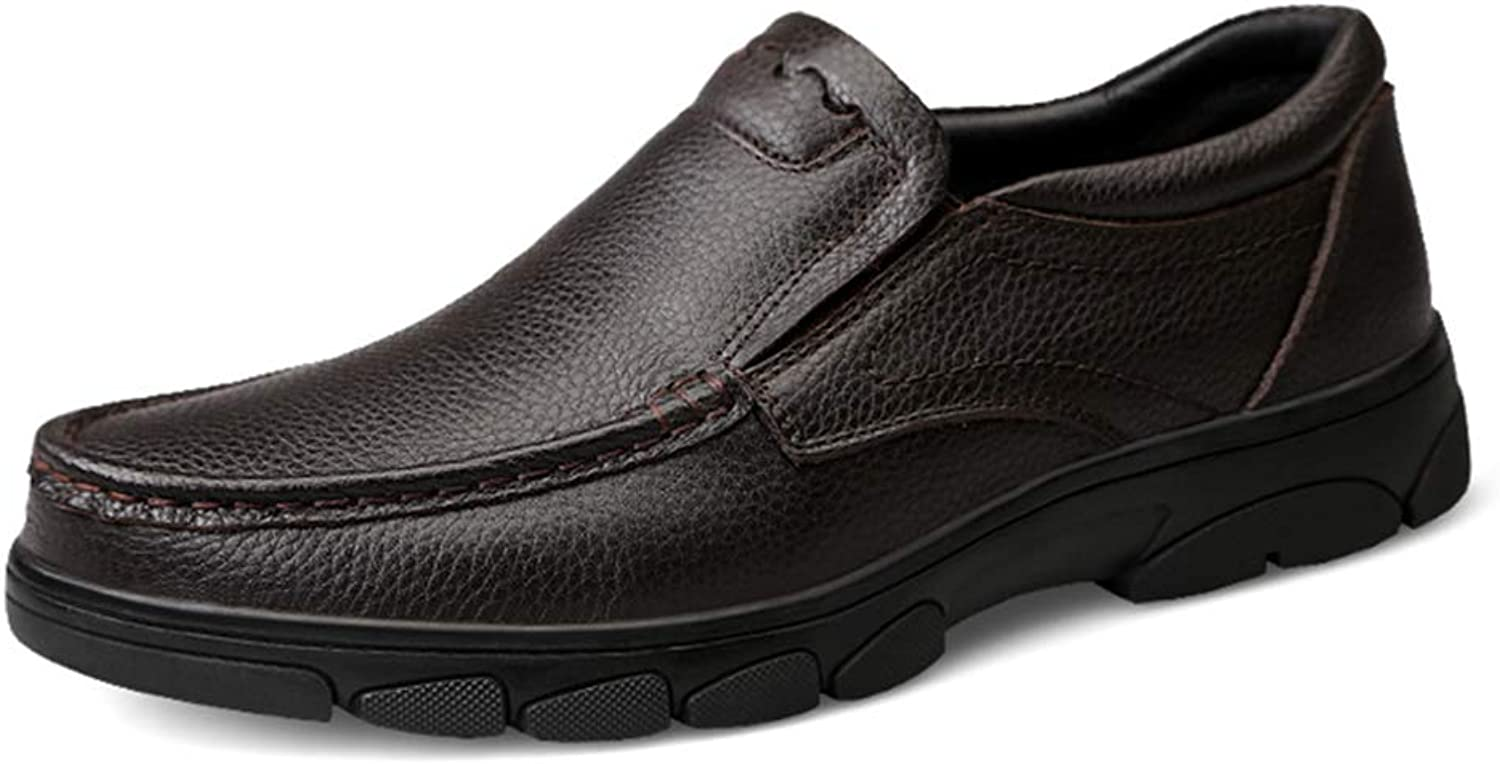 Dig dog bone Men's Oxford Casual Simple Low Top Slip On Round Toe Formal shoes