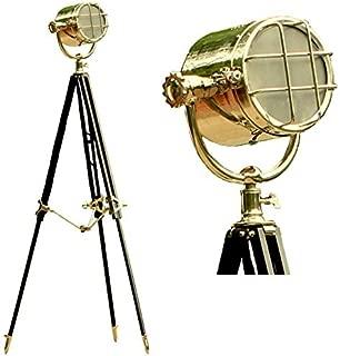 Hollywood Studio Photography Big Floor Lamp Searchlight Black Tripod Decor