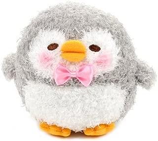 Amuse 252588B Grey Penguin Koromaru Marukoro Pen Chan Furry Standard Plush, 4.25