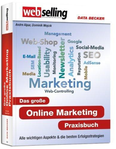 Webselling: Das große Online Marketing Praxisbuch von Andre Alpar (2012) Gebundene Ausgabe