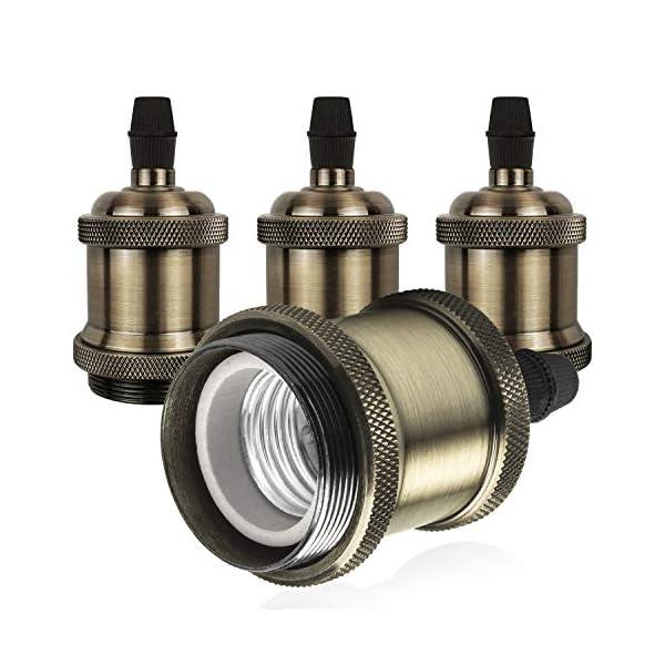 DiCUNO-E26-E27-Vintage-Solid-Lampenfassung-Keramik-Lampe-Halter-Edison-Schraube-Glhbirne-Buchse-Adapter