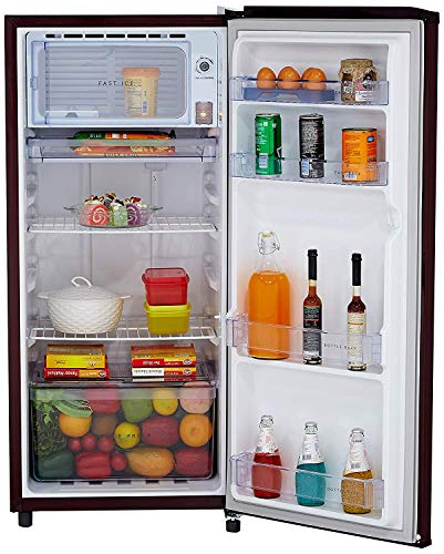 Whirlpool 190 L 3 Star Direct-Cool Single Door Refrigerator (WDE 205 CLS 3S, Wine) 5