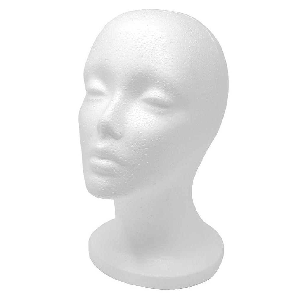 A1 Pacific Female Styrofoam Mannequin Head, 11