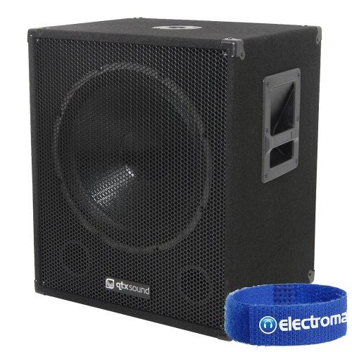 QTX Sound QT18SA 18 pulgadas 1000W altavoz de bajo activo