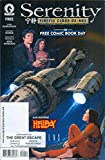 Free Comic Book Day 2016 featuring Serenity, Hellboy and Aliens Defiance