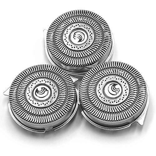 QYHSS Replacement Shaver Head, HQ9 Cabezales de repuesto de doble precisión, para afeitadoras eléctricas Philips Norelco HQ8140, HQ9080, HQ9090, HQ9070, PT920, PT925 AT940 AT921