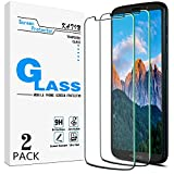 [2-Pack] KATIN For Motorola Moto Z3 Play, Moto Z3 Tempered Glass Screen Protector No-Bubble, 9H Hardness, Easy to Install