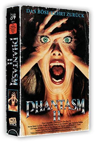 Phantasm II - Das Böse - 3-Disc VHS-Box mit Poster - Uncut (+ DVD) (+ Bonus-DVD) [Blu-ray]
