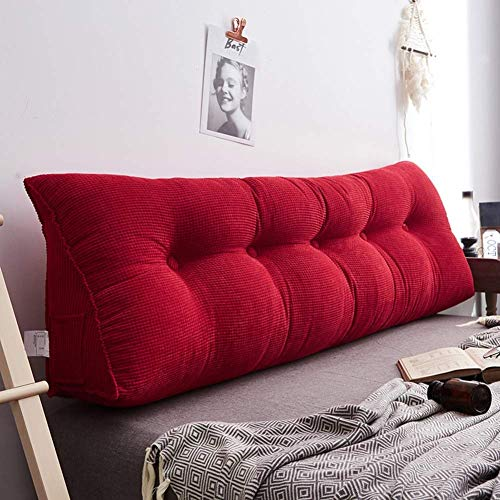 Buy Bargain SZDL Wedge Pillow Sofa Bed Cushions Reading Pillow Cushion Reading, Pillow Adjustable Ra...