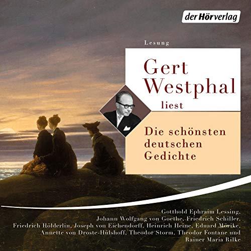 """Gert Westphal liest """"Die schönsten deutschen Gedichte"""" cover art"""