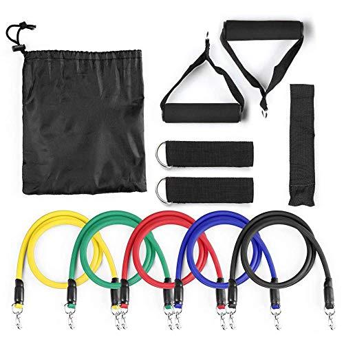 hmmsw Abnehmen Elastisches Seil Fitness Widerstandsband Yoga Puller Brustmuskeltraining Fitnessgeräte Home Pull Seil