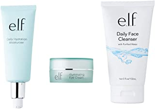 e.l.f., Hello, Hydration Start Set, Lightweight, Nourishing, Moisturizing , Cleanses, Removes Dirt and Makeup, Minimizes D...